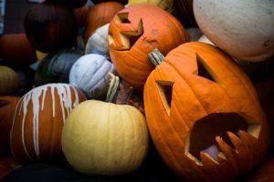 Halloween på biblioteket