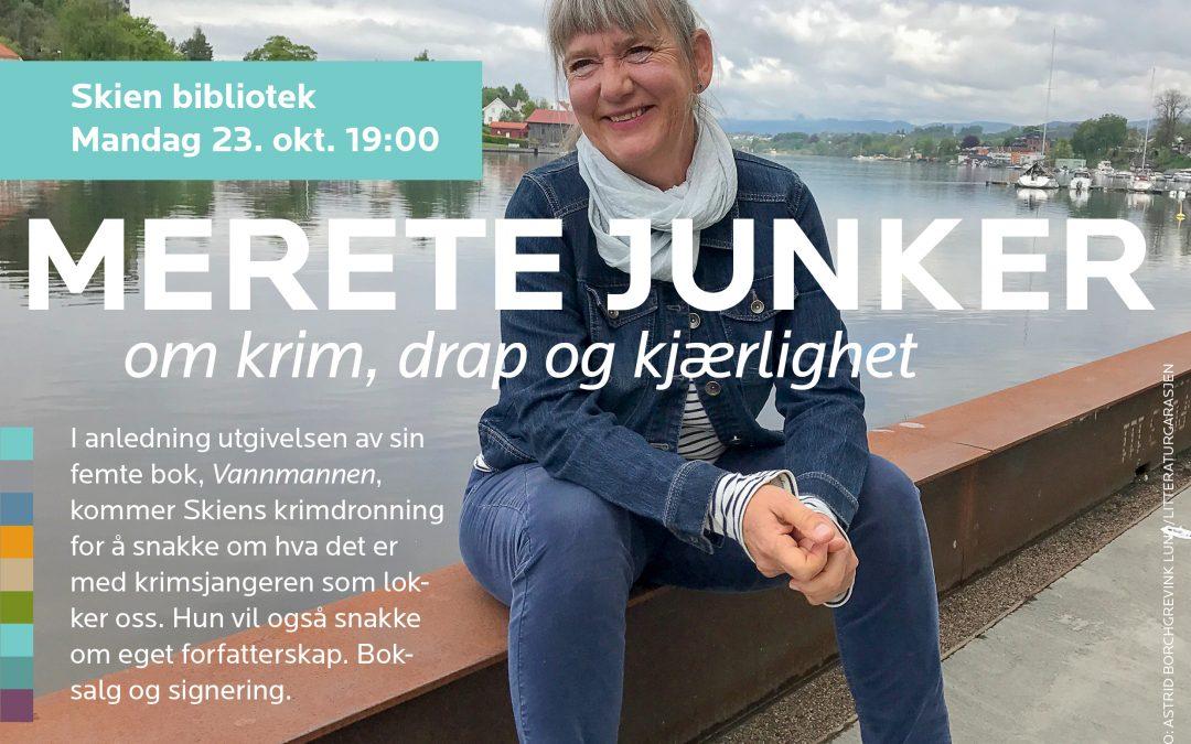Merete Junker 23. oktober