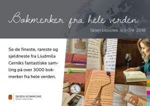 Utstilling: Bokmerker fra hele verden