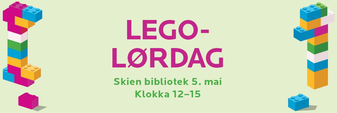 Legolørdag 5. mai