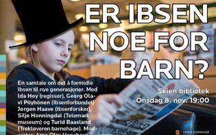 Er Ibsen noe for barn?