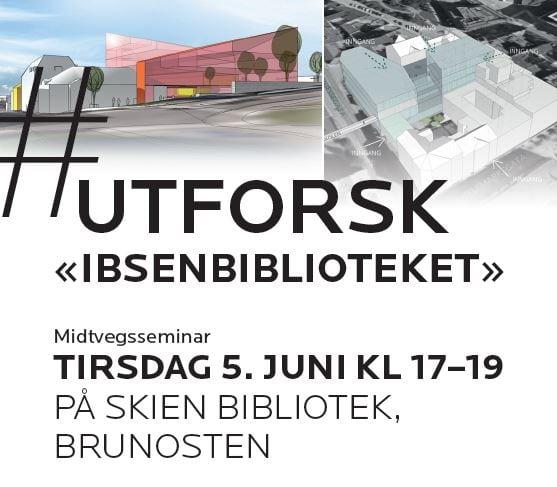 #Utforsk Ibsenbiblioteket