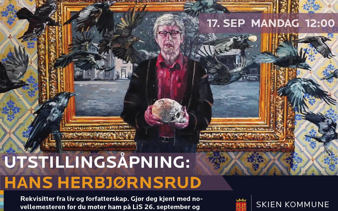 Hans Herbjørnsrud: Utstillingsåpning