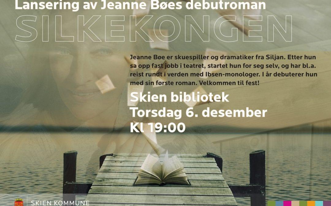 Boklansering: Jeanne Bøe