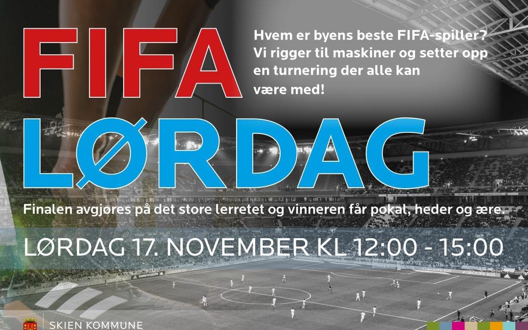 FIFA-LØRDAG!