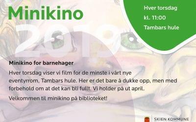 Minikino for barnehager