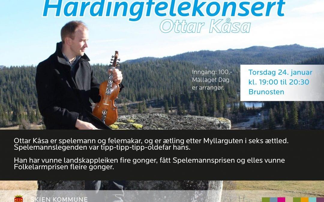 Hardingfelekonsert: Ottar Kåsa