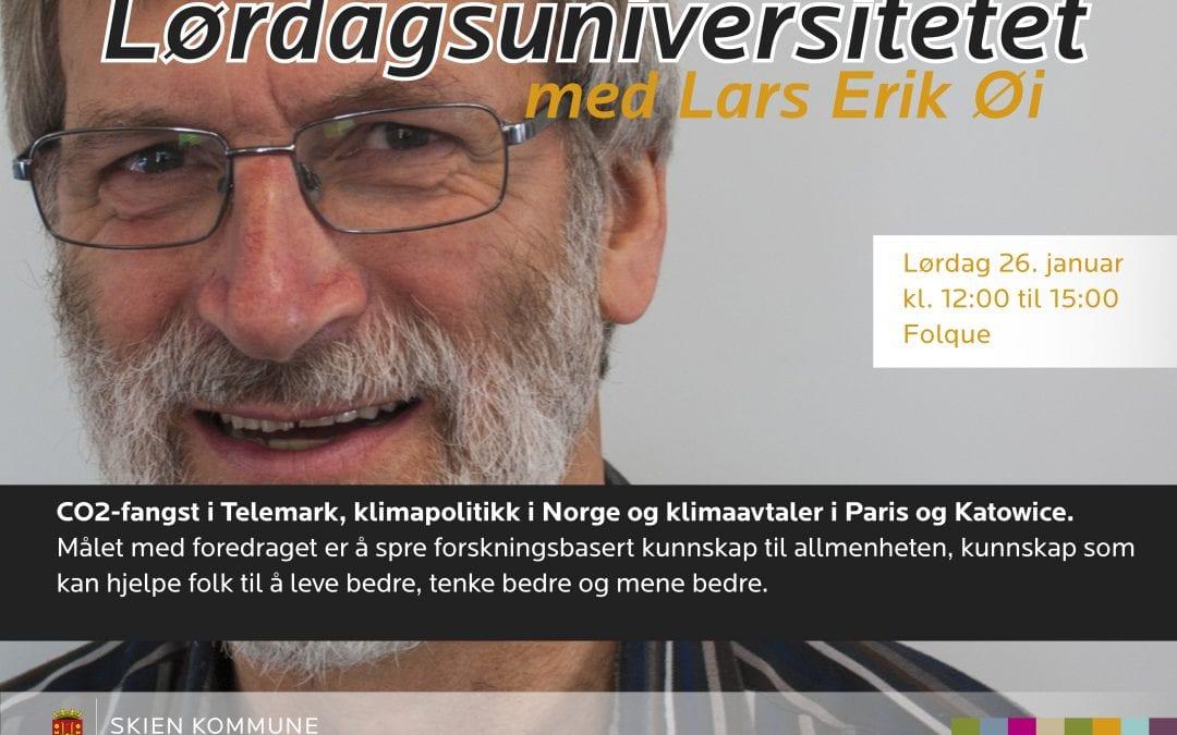 Lørdagsuniversitetet med Lars Erik Øi