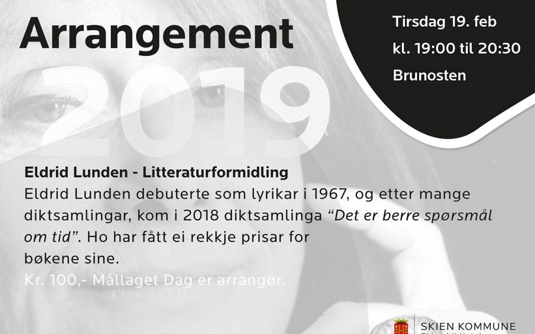Eldrid Lunden: Litteraturformidling