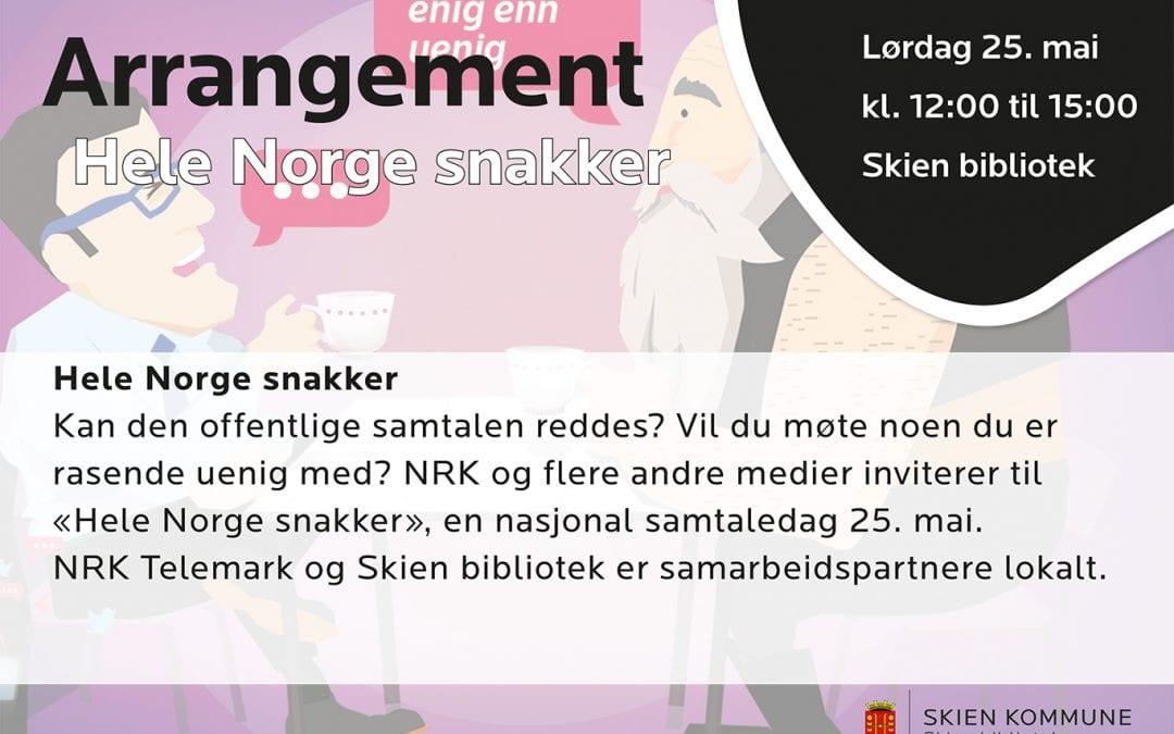 Hele Norge snakker