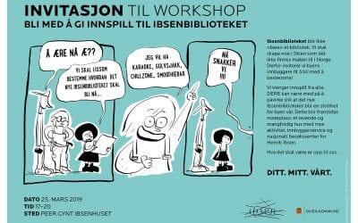 Invitasjon til workshop!