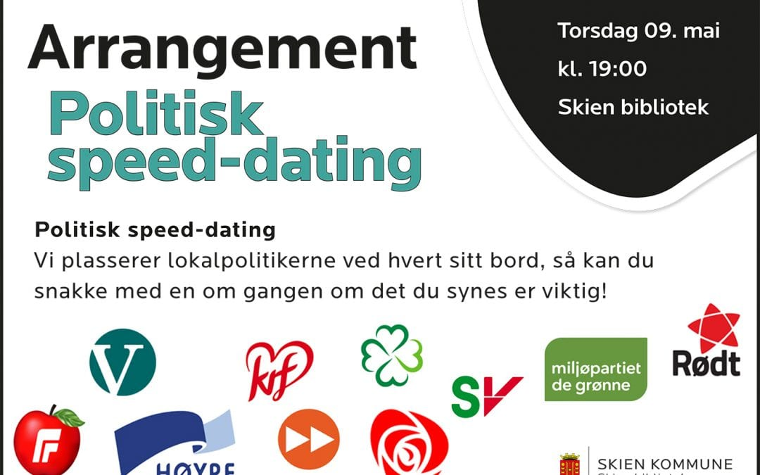 Valg 2019: Politisk speed-dating