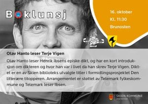 Boklunsj: Olav Hanto leser Terje Vigen