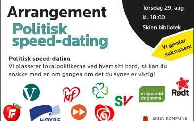 Politisk speed-dating – igjen!
