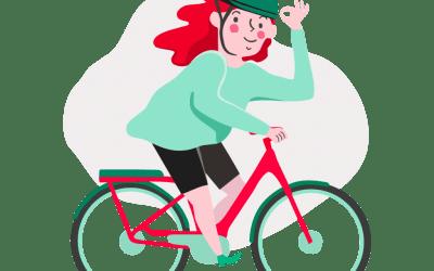 Lån en el-sykkel på Skien bibliotek