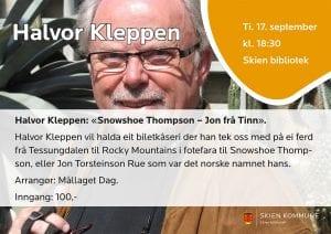 Mållaget Dag: Halvor Kleppen