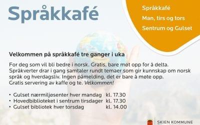 Språkkafe/Language Café