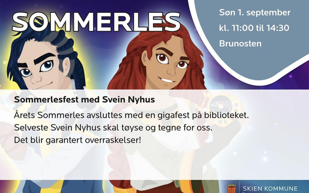 Sommerlesfest med Svein Nyhus