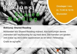 Boklunsj: Shared Reading