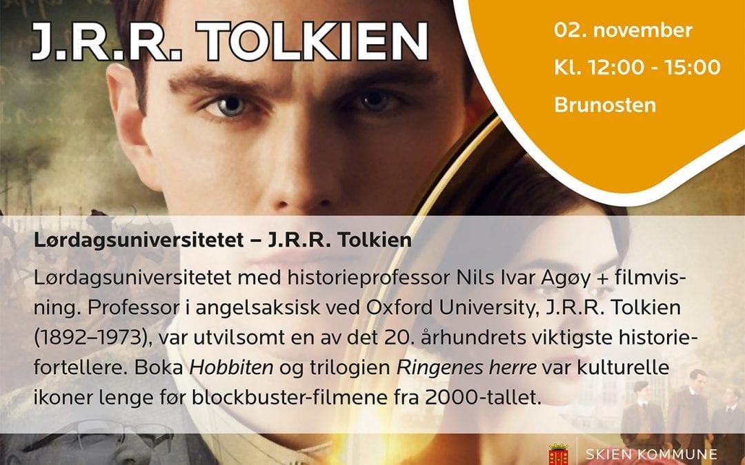 Lørdagsuniversitetet – J.R.R. Tolkien