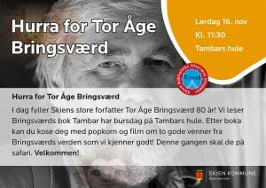 Hurra for Tor Åge Bringsværd