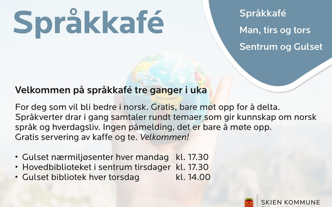 Språkkafe/Language Café