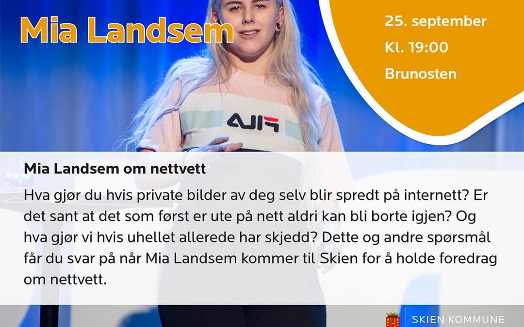 Mia Landsem om nettvett