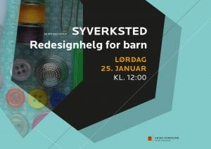 Redesignhelg for barn